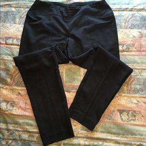 Black pull on pants